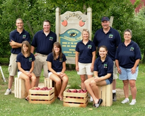 Rasch Family Orchard in Grand Rapids,where Coldwater Community Schools received a shipment of Michigan grown peaches for students.