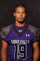 USF DB Solomon St. Pierre. Photo Courtesy: University of Sioux Falls