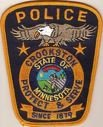 Crookston Police patch