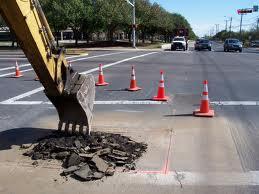 2013 street and utility repair