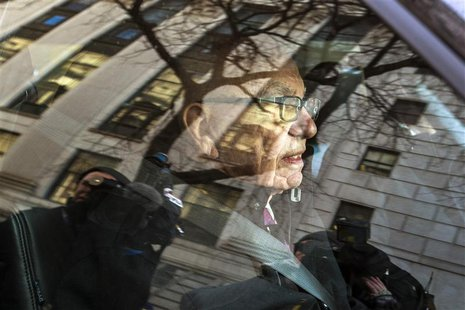 Rupert Murdoch, the chairman of News Corp and 21st Century Fox, departs New York State Supreme Court with his lawyers after a hearing in New