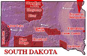 South Dakota Reserevations