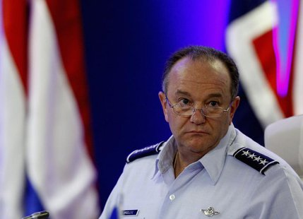 NATO's Supreme Allied Commander Europe (SACEUR) U.S. Air Force General Philip Mark Breedlove attends the Opening Remarks of the NATO Militar