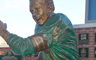 Bart Starr & Clarke Hinkle Sculptures Installed on the Packers Heritage Trail 13