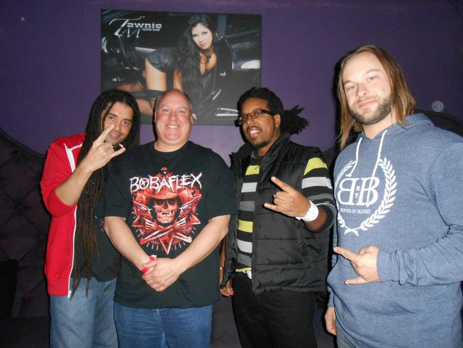 Great listener pic after the first Nonpoint sell out in 2012