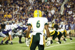 CJ Smith and NDSU will be looking to go 11-0 with a victory over USD today.