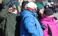 See the Faces of the Blustery Green Bay Holiday Parade 2013 with WTAQ 25