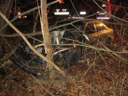 Sullivan Man Dies In Friday Night (11-22-2013) Crash pic 2 provided by Vigo County Sheriff