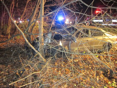 Sullivan Man Dies In Friday Night (11-22-2013) Crash pic 1 provided by Vigo County Sheriff