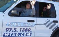 See the Faces of the Blustery Green Bay Holiday Parade 2013 with WTAQ 23