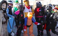 See the Faces of the Blustery Green Bay Holiday Parade 2013 with WTAQ 17