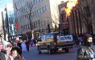 See the Faces of the Blustery Green Bay Holiday Parade 2013 with WTAQ 3