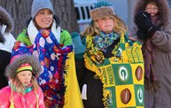 See the Faces of the Blustery Green Bay Holiday Parade 2013 with WTAQ 2