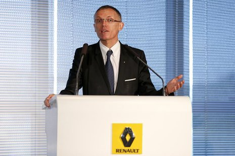 Renault Chief Operating Officer Carlos Tavares attends the company's First-Half 2013 results presentation in Boulogne-Billancourt, near Pari
