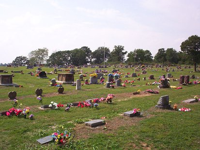 Cemetary (Photo from: Wikimedia Commons).