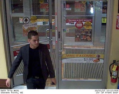 One of three people wanted for questioning in a series of fraudulent credit card purchases.  Who is he?  Contact Portage County Crimestoppers
