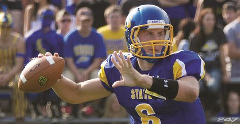 South Dakota State University Quarterback Austin Sumner.