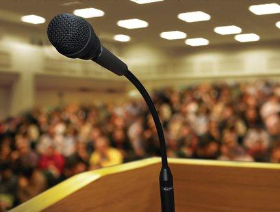 podium mic