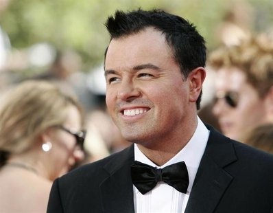 "Nominee Seth MacFarland, the creator of ""Family Guy"", arrives at the 61st annual Primetime Emmy Awards in Los Angeles, California September"