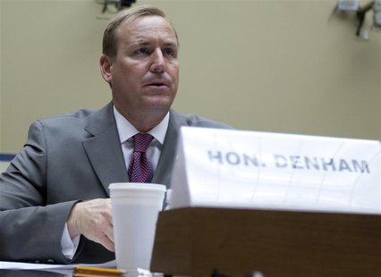 U.S. Representative Jeff Denham (R-CA) attends a House Oversight and Government Reform Committee hearing in Washington, in this July 27, 201