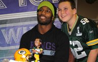 Jarrett Bush & James Jones :: 1 on 1 with the Boys :: 11/25/13 9
