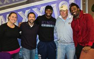 Jarrett Bush & James Jones :: 1 on 1 with the Boys :: 11/25/13 21