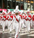 The Great American Marching Band in Action in a previous Macy's Parade.