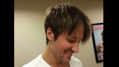 Image courtesy of Twitter.com/KeithUrban (via ABC News Radio)