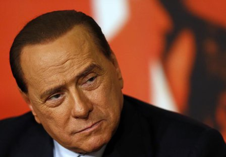 Italy's former prime minister Silvio Berlusconi attends a news conference in Rome November 25, 2013. REUTERS/Alessandro Bianchi