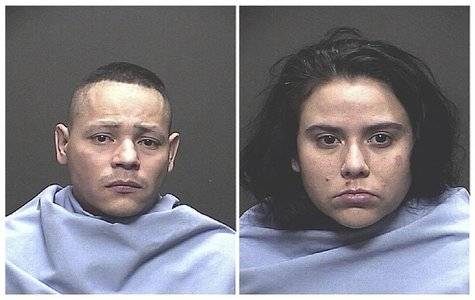Fernando Richter, 34, and Sophia Richter, 32, are pictured in this handout booking photo courtesy of the Tucson Police Department and receiv