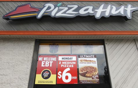 A Pizza Hut manager was fired for refusing to open the restaurant on Thanksgiving day. REUTERS