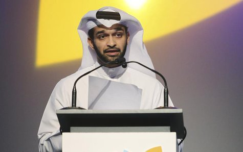 2022 FIFA World Cup Qatar Supreme Committee Secretary-General Hassan Al-Thawadi speaks during the opening of the International Sport Securit