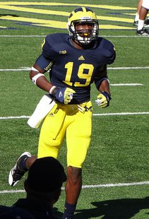 Michigan Wolverines tight end Devin Funchess (Wikipedia)