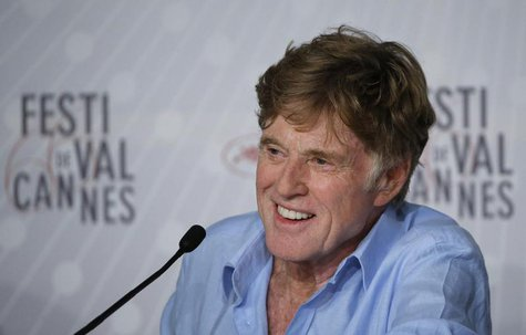 "Actor Robert Redford attends a news conference for the film ""All is Lost"" during the 66th Cannes Film Festival in Cannes May 22, 2013. REUTE"