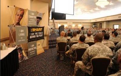 Soldiers at Fort Hood attend a sexual harassment class. (Army.mil)