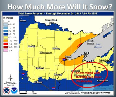 From the Duluth National Weather Service Media Briefing.  For the full briefing, see the link below