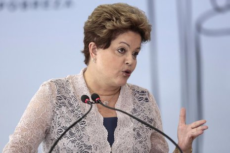 Brazil's President Dilma Rousseff speaks during the 16th FINEP Innovation Award ceremony at the Planalto Palace in Brasilia December 4, 2013