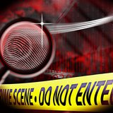Crime scene investigation copyright Midwest Communications, Inc.