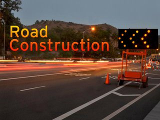 Road construction copyright Midwest Communications, Inc.