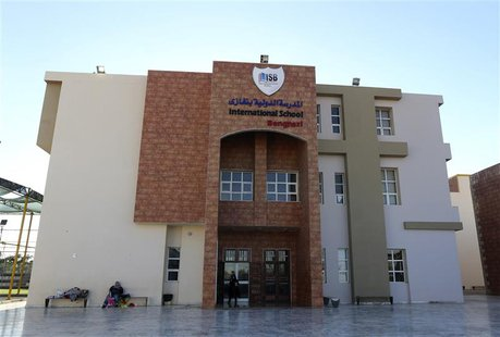 The International School Benghazi (ISB) is pictured in Benghazi December 5, 2013. Gunmen shot dead an American chemistry teacher working at