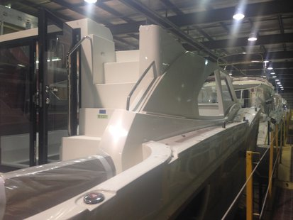 Boat at Marquis Yachts in Pulaski. (Photo from: FOX 11).