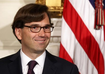 U.S. President Barack Obama announces the nomination of Jason Furman to be the new chair of the White House Council of Economic Advisors in