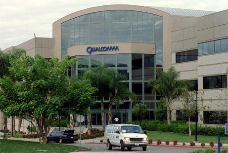 The headquarters in San Diego of Qualcomm Inc., a wireless communications company, as seen December 5. Photo by J.T. RUSSIA SPY
