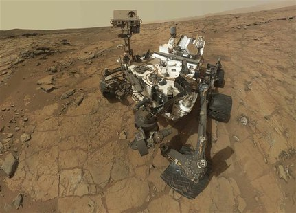 A self-portrait of the Mars rover Curiosity is seen in this February 3, 2013 handout image courtesy of NASA. REUTERS/NASA/JPL-Caltech