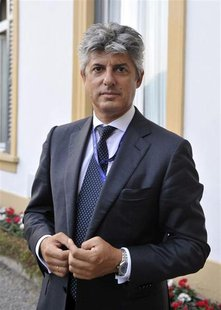 Telecom Italy Chief Executive Marco Patuano is pictured during the Ambrosetti workshop in Cernobbio, next to Como, September 8, 2012. REUTER