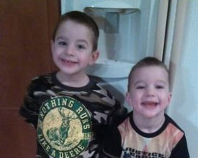 Jack & Colt Charlson (photo courtesy Ottawa Co. Sheriff's Dept.)