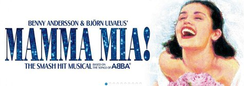 Mamma Mia, in Kalamazoo this Tuesday and Wednesday.
