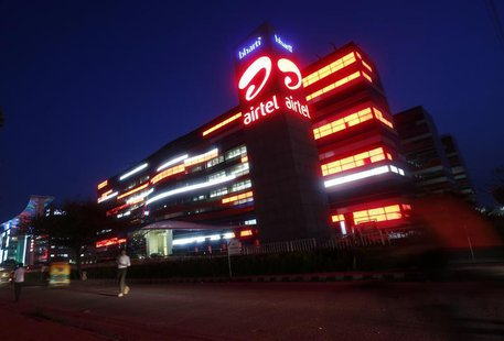 The Bharti Airtel office building is pictured in Gurgaon, on the outskirts of New Delhi, July 30, 2013. REUTERS/Mansi Thapliyal