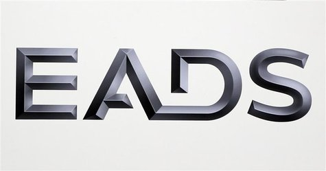 Logo of EADS is seen at the European aerospace and defence group EADS headquarters in Les Mureaux near Paris in this January 12, 2011 file p