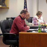 Branch County Commissioner Dale Swift at county budget hearing December 10, 2013